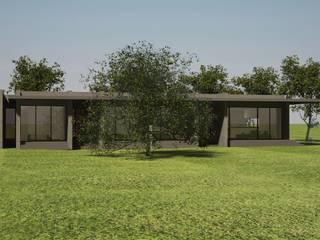 CASA DE APOIO . BENGUELA . ANGOLA Casas minimalistas por PLURALLINES - Ideias, Projectos e Gestão Lda Minimalista