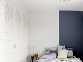 Dormitorios de estilo moderno de Pracownia Projektowania Wnętrz Karolina Czapla Moderno