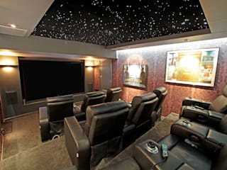Underground Screening Room HiFi Cinema Ltd. Classic style media room