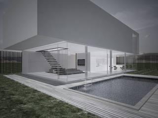 MORADIA SESIMBRA . PORTUGAL Casas minimalistas por PLURALLINES - Ideias, Projectos e Gestão Lda Minimalista