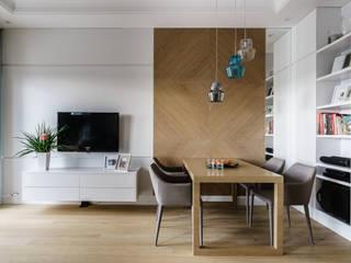 Phòng ăn phong cách hiện đại bởi Anna Serafin Architektura Wnętrz Hiện đại