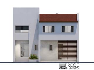 現代房屋設計點子、靈感 & 圖片 根據 Prece Arquitectura 現代風