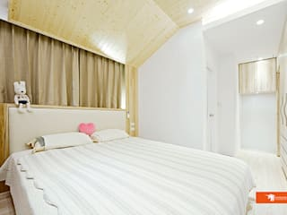 Unicorn Design Scandinavian style bedroom