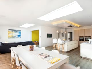Wandsworth Family Home Salas de estilo moderno de Link It Solutions Ltd Moderno