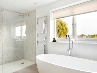 Wandsworth Family Home Link It Solutions Ltd Modern bathroom