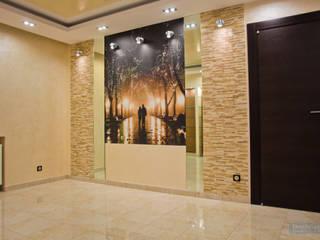 Дизайн-проект трехкомнатной квартиры 140 кв. м в современном стиле: Гостиная в . Автор – Студия интерьера Дениса Серова
