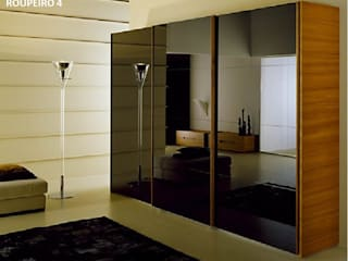Miguel Andrade BedroomWardrobes & closets MDF Wood effect
