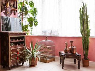 Квартира на Мичуринском проспекте: Рабочие кабинеты в . Автор – Технологии дизайна, Колониальный