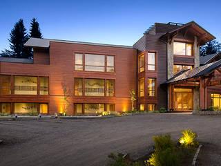 Suites&Aparts Huenu. INTEGRAR DISEÑO Hoteles de estilo moderno