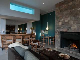 APART ALTO TRAFUL INTEGRAR DISEÑO Hoteles de estilo moderno