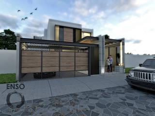 CASA HABITACIÓN - ASTORIA Casas modernas de Enso Arquitectos Moderno