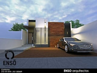 CASA FORTEZZA Casas modernas de Enso Arquitectos Moderno