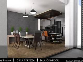 CASA FORTEZZA Cocinas modernas de Enso Arquitectos Moderno
