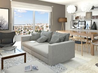 FL Rendering Modern living room