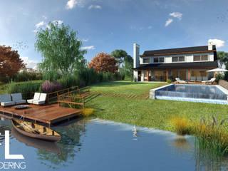 FL Rendering Rustic style house