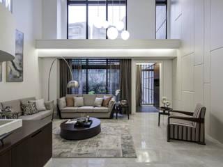 Modern Living Room by 大荷室內裝修設計工程有限公司 Modern