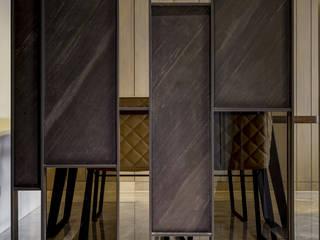 家的眷戀 大荷室內裝修設計工程有限公司 現代風玄關、走廊與階梯