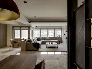家的眷戀 大荷室內裝修設計工程有限公司 现代客厅設計點子、靈感 & 圖片