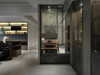 關於家的體感溫度 大荷室內裝修設計工程有限公司 現代風玄關、走廊與階梯