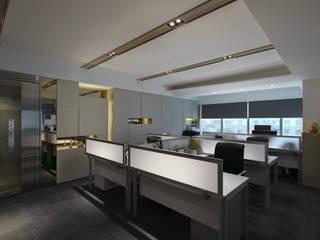 Modern Study Room and Home Office by 大荷室內裝修設計工程有限公司 Modern