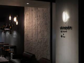 飲。癮 大荷室內裝修設計工程有限公司 工業風的玄關、走廊與階梯