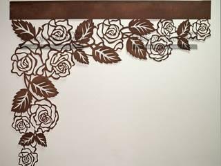 """Ажурный ламбрекен """"Розы"""":  в современный. Автор – Студия Декор-эксперт, Модерн"""