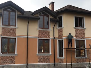 Реализованный проект дома 470 кв.м. с бассейном по индивидуальному проекту:  в . Автор – СК 'РЕЗИДЕНЦИЯ'