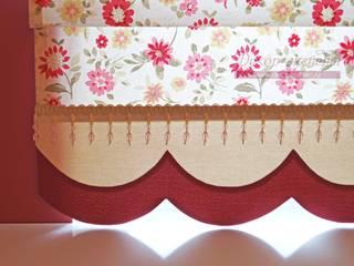 Фрагмент римской шторы:  в . Автор – Студия Декор-эксперт