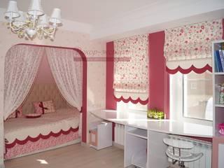 Общий вид на текстильный декор детской комнаты.:  в . Автор – Студия Декор-эксперт