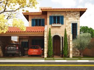 房子 by Leonardo Morato Arquitetura, 地中海風