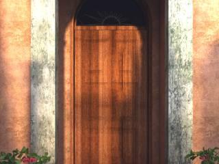 Puertas y ventanas de estilo mediterráneo de Leonardo Morato Arquitetura Mediterráneo
