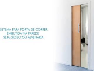 Sistemas Para Portas de Correr Embutidas por Door&Space