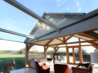 Green Barn IQ Glass UK Country style conservatory