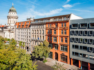 In City Immobilien AG, Jägerstr. 54-55:  Bürogebäude von Philip Gunkel Photographie
