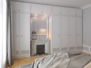 Moderne Schlafzimmer von Agence KP Modern