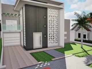 RESIDÊNCIA BS Casas modernas por Ivonete Teixeira Arquitetura Moderno