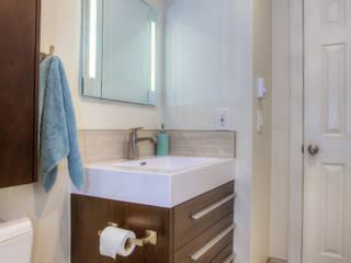 Aqua Ambiance Modern Bathroom by Dahl House Design LLC Modern