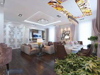 Студия интерьера Дениса Серова Classic style living room