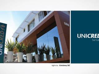 Espaces commerciaux de style  par DEGRAU - Estratégia em Arquitetura,