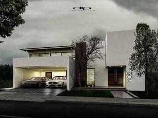 Minimalist house by dlp Arquitectos Minimalist