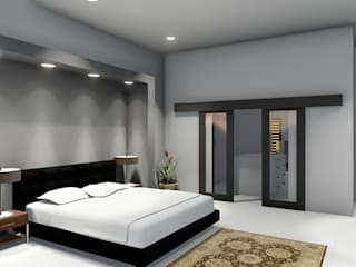 Copperleaf Dream:  Bedroom by Ellipsis Architecture,