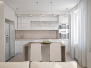 Квартира на Петроградской стороне: Кухни в . Автор – Amaizing Home