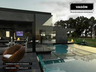 Rumah oleh juan olea arquitecto, Modern
