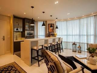 Sala Estar: Salas de estar  por TODDO Arquitetura e Engenharia
