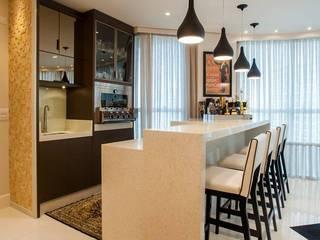 Espaço Gourmet: Salas de estar  por TODDO Arquitetura e Engenharia