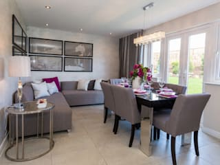 New Year - New Home Decor Ideas......... Modern dining room by Graeme Fuller Design Ltd Modern