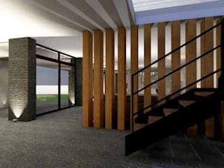 Modern offices & stores by casas eco constructora Modern