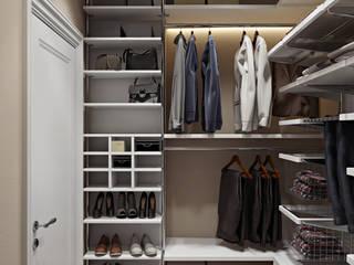 eclectic Dressing room by Дарья Баранович Дизайн Интерьера