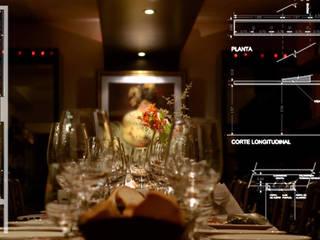 VINOTECA: Gastronomía de estilo  por Estudio Bono-Sanmartino
