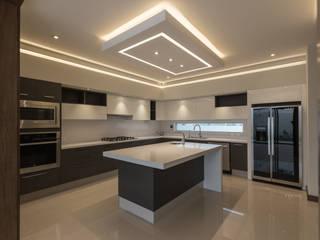 Parque Virreyes Cocinas modernas de 2M Arquitectura Moderno